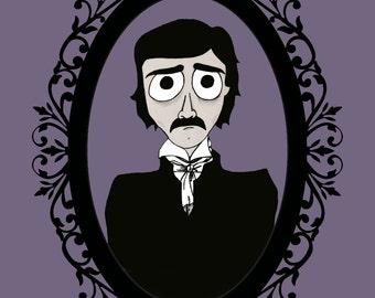 Edgar Allan Poe (Prints & Stickers)