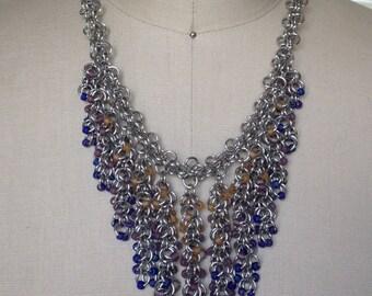 Shaggy Loops Fringe Necklace