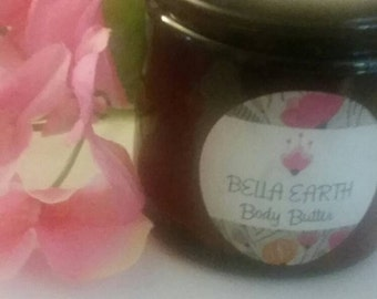 All Natural Whipped Refined Shea Body Butter 8 oz.