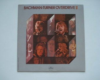 Bachman-Turner Overdrive II record album, vintage vinyl record