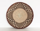 Binga basket from Zimbabwe | flat woven | medium size