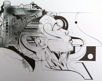 Untitled original drawing