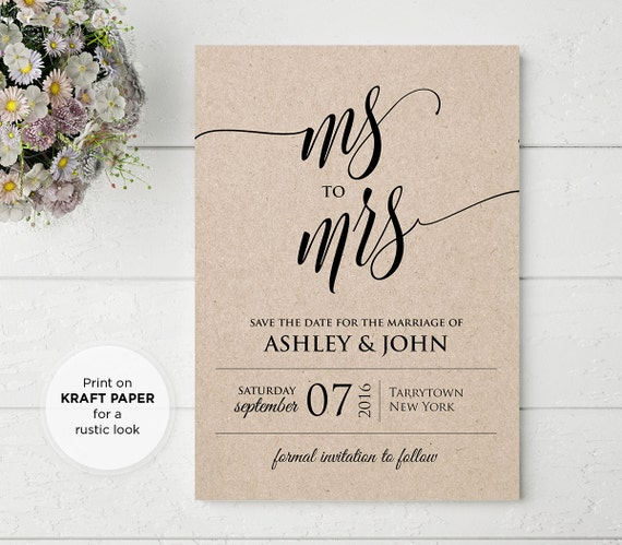 Items similar to save the date template wedding save the for Electronic save the date templates