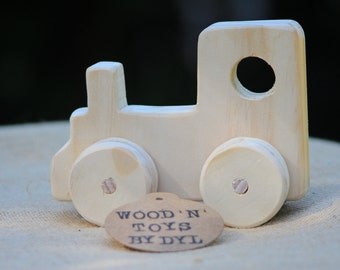 Timothy - Handmade Wooden Toy Train
