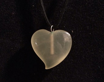 Green heart pendant