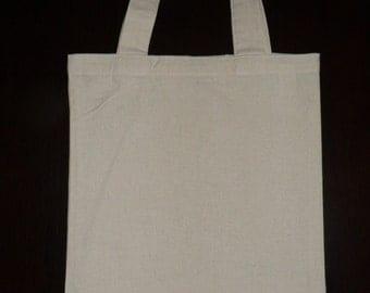 Calico Bags (Tote Bags) with Handle Bulk (27 cm x 33 cm )Bulk 5, 10, 15, 25,
