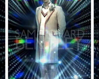 Doctor Who - Portraits of the Doctor - Fifth Doctor - Print