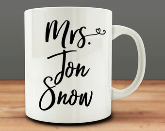 Mrs. Jon Snow Mug (M340-rts)