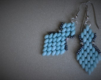 Summer blue errrings