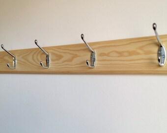 Hand made wooden Coat Rack