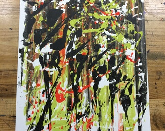 7 Dogs Marching (2016) Fine art serigraph 20x16