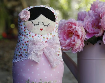 Personalized Matryoshka doll