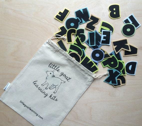 Felt alphabet spring rain flannel board by littlegoatlearning for Flannel board letters