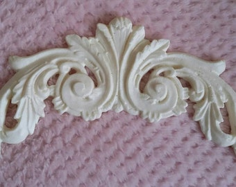 Large Flourish /furniture applique /embellishment