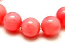 4mm Orange Coral Natural Coral Beads Bead Supplies Jewelry beads Jewelry Tools Craft Supplies Round Carved Beads Round Ball Bead -181131