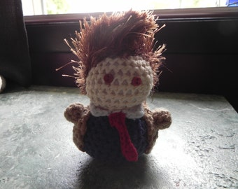 Adorable Crochet Doctor Who Doll (10th Doctor David Tennant)