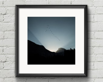 Sunrise in Yosemite Valley