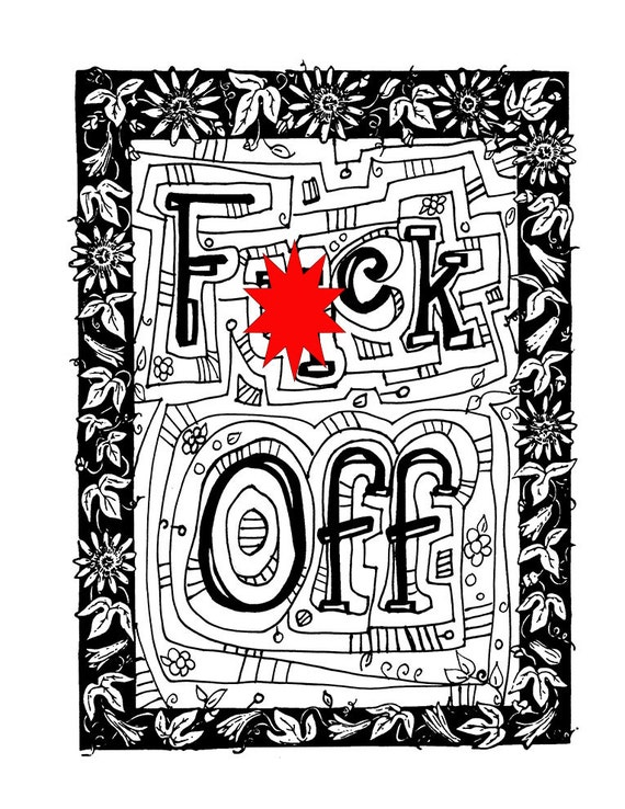 Swear Word Coloring Book Download You May Download These