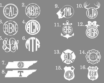 Monogram Decals