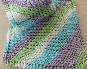 Washcloths - Knit Set of 3
