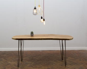 NATTURA (Dining) - Handmade Live Edge Dining Table. Made To Order