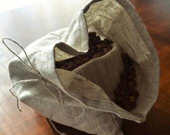 Linen food bag