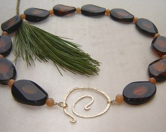Beautiful agate - Collier - only for individualists