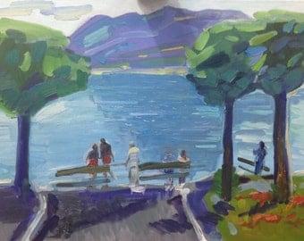 Como Lake. Italy