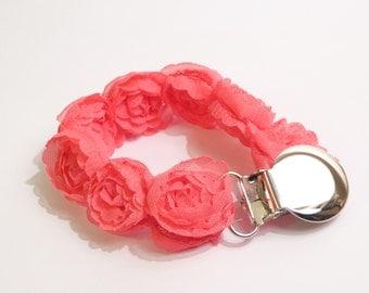 Hot Pink Rosette Dummy String