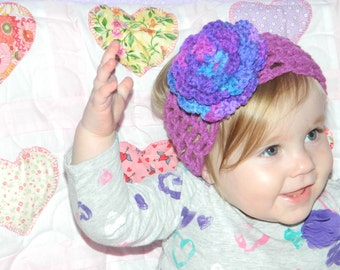 Toddler Purple Headband