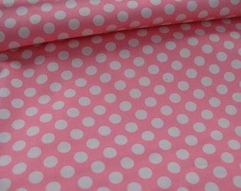 Ta Dot Pink on Light Pink by Michael Miller