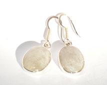 Earrings silver Moonstone