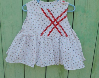 Cotton girl dress for 1 year