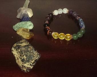 Reiki Infused Chakra Balancing Bracelet