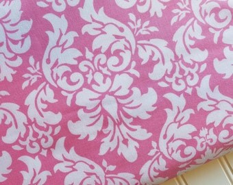 Michael-Miller-Fabric-By-The-Yard-Pink-Damask-Cotton-Quilting-Fat-Quarters-Sewing-DIY-Projects-Crafts-Supplies
