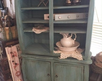 Handmade Antique Hutch-Local Pick up/Delivery ONLY