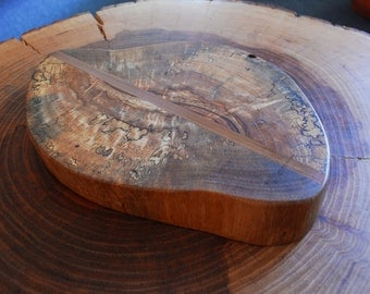 Pecan/Cedar live edge cheese boards