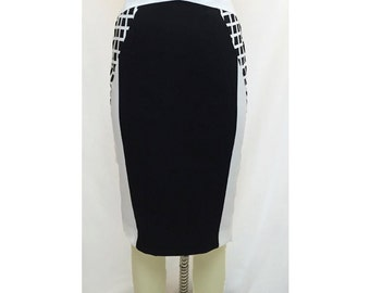 Pencil Skirt. Modern. Sophisticated. Monochrome.