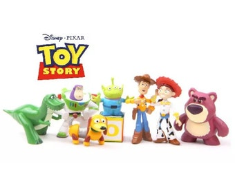Mister A Gift Toy Story Set Of 8 Plastic Cake Toppers