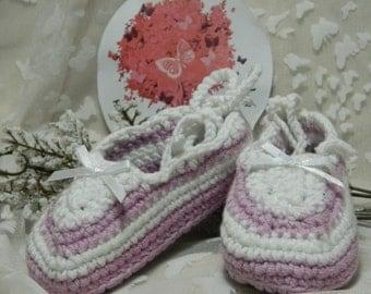 Ballet Slippers Medium (6 - 12 months. Heel to toe 11cm approximately)  SH6