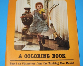 Annie at the mansion coloring book-Vintage