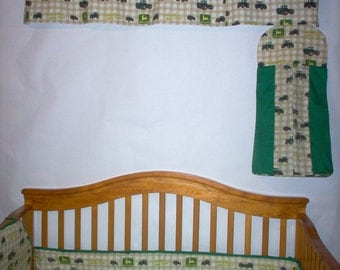 Custom Made John Deere Baby Bedding