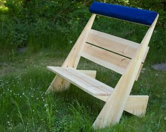 Garden Bench / wooden bench pine