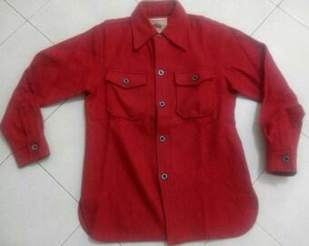 HOT RARE ITEM!!!! Edwin winter coat long coat red coat colour coat!!!!