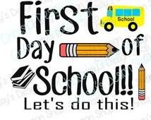 Back to school svg download / school svg / first day of school svg / kids school svg / school bus svg / pencil svg / school clip art / vinyl