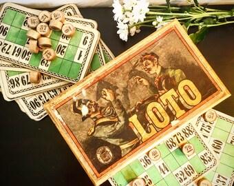 Former Lotto game. Beginning XX century