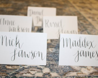 Place Cards- Custom- Handmade