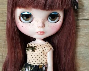 Blythe ooak custom doll, CHARLINE by Thisadoll