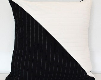 Yin & Yang Quilted Pillow