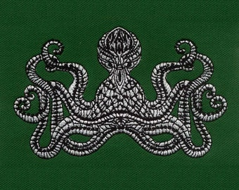 Weird and Wonderful Octopus Machine Embroidery Design